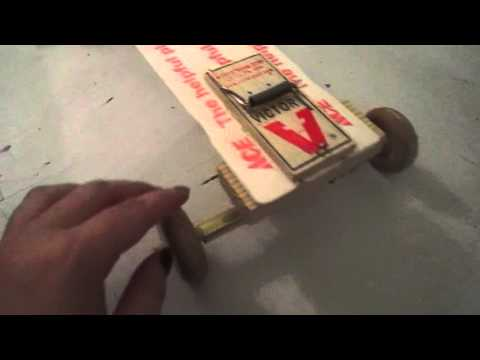 Physics Mousetrap Car Explanation Youtube