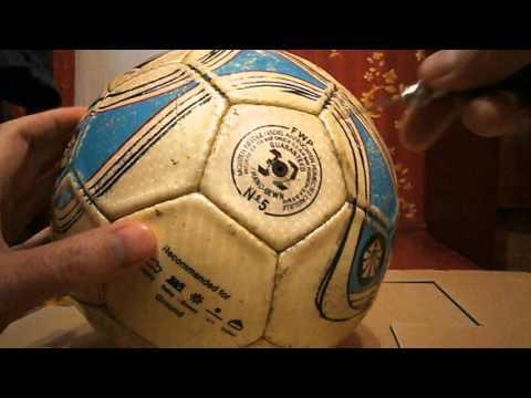 Как надуть мяч