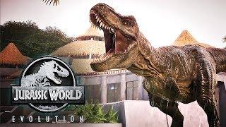 Jurassic World Evolution: Return to Jurassic Park - Official Cinematic Announcement Trailer | X019