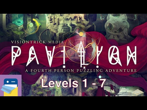 Pavilion Touch Edition: Levels 1 2 3 4 5 6 7 Walkthrough & iPad Gameplay (by Visiontrick Media)