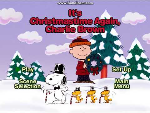 Its Christmas Time Again Charlie Brown.Opening To A Charlie Brown Christmas 2000 Dvd It S Christmastime Again Charlie Brown Option