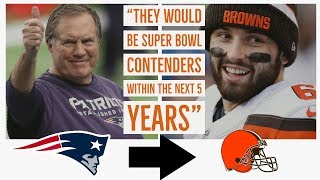 Why Belichick Coaching the Browns Would Be The Best Thing Ever