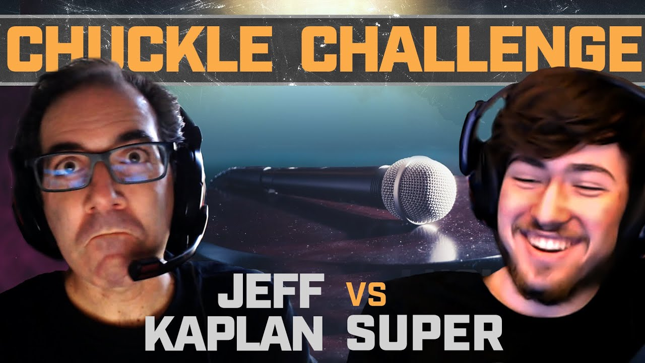 Jeff Kaplan vs. Super — Chuckle Challenge | Shock vs. The World | BlizzConline 2021