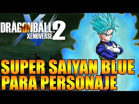 DLC 6 SUPER SAIYAN BLUE PARA TU PERSONAJE ROMPERA EL JUEGO Dragon ball xenoverse 2