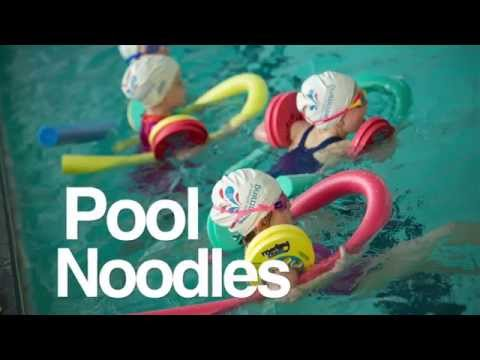 Swimming noodle the ultimate swimming aid