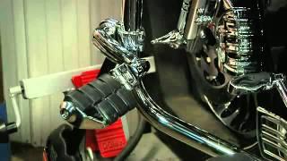 kuryakyn longhorn offset dually highway pegs at motorcycle superstore com