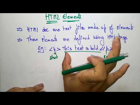HTML Elements |by Bhanu Priya