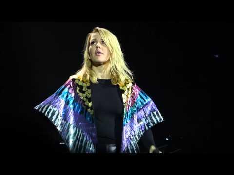 Ellie Goulding - Your Song (Elton John) live Manchester Arena19-03-16