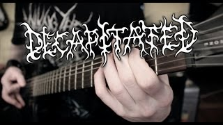 Decapitated - Suffer The Children Guitar Cover By Siets96 (HD)