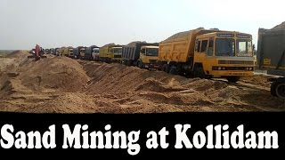Sand Mining at Kollidam River | Video Proof of Illegal Sand Mining at Kollidam River, Trichy