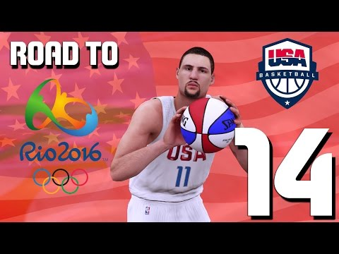 Team USA Basketball - New Diamond - Road To Rio Ep. 14 - NBA 2K16 MyTeam