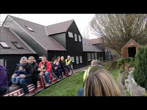 GMES Model Steam Train Rides for Kids, Open Day, Guildford - Ride #1