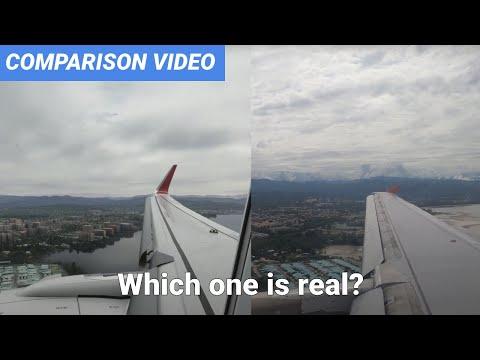 Microsoft Flight Simulator 2020 VS Real Life | A320 Landing at Sabah