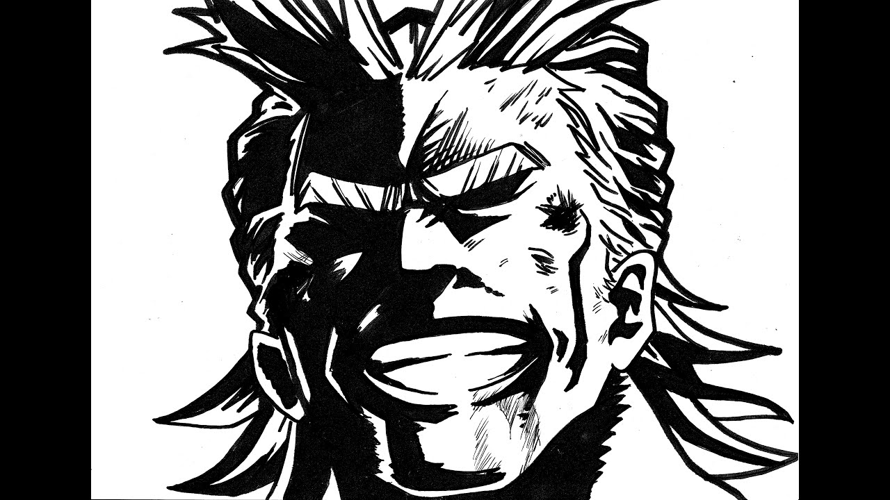 my hero academia all might youtube. Black Bedroom Furniture Sets. Home Design Ideas