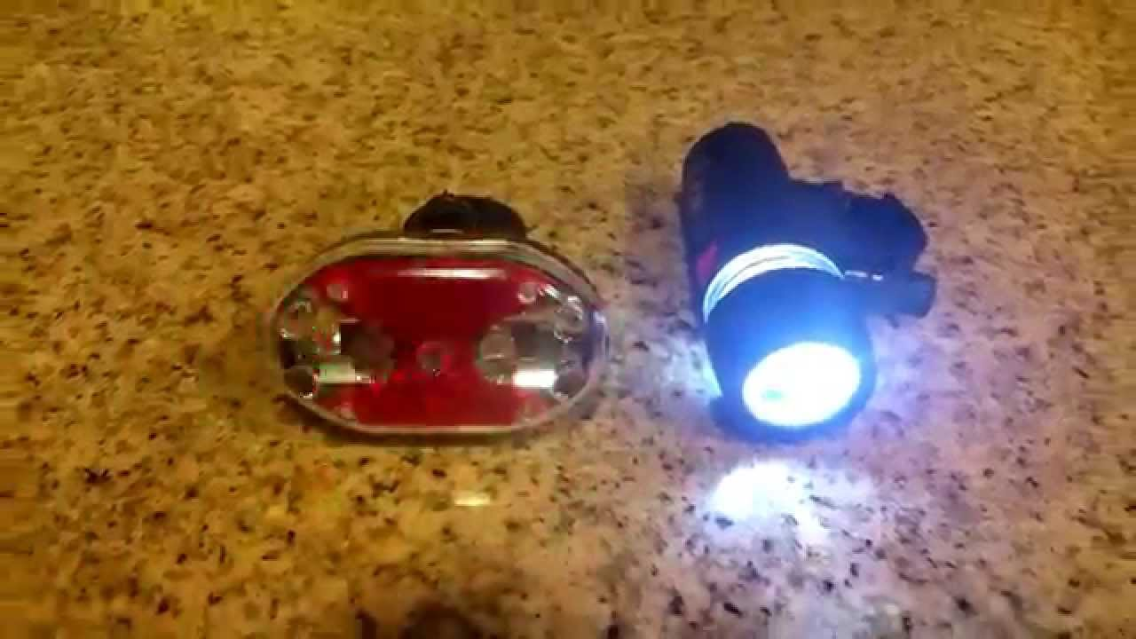 Rear Safety Waterproof Flashlight BS 5 LED Lamp Bike Bicycle Front Head Light