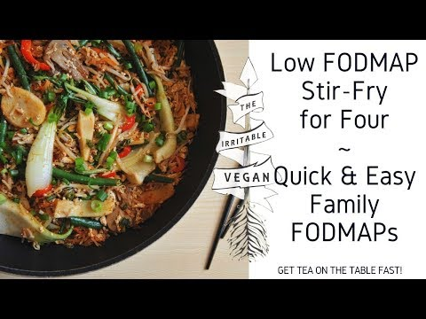 Lofo Family Stir Fry for Four / Quick and Easy Family FODMAP Recipe