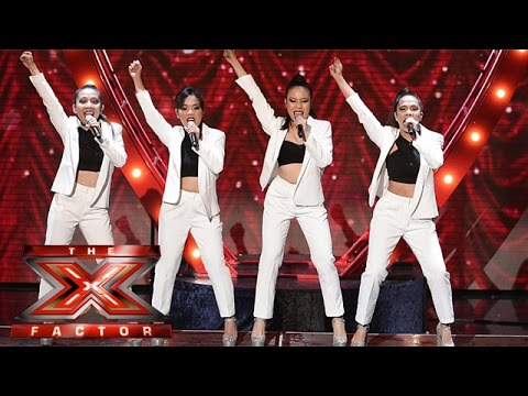 There aint no other women like 4th Impact!   Week 4  The X Factor 2015