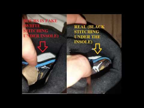 the air jordan 12 wings real vs fake