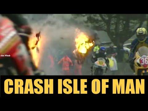 АВАРИИ НА ОСТРОВЕ МЭН ТТ | Isle Of Man TT Superbike Crash
