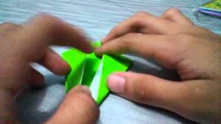 Cara buat origami dinosaurus (NAZWA ZALIKA RAMADHANI)