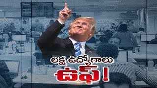 Trump govt puts H1B workers' spouses on thin ice; H4 work | Sakshi Special Discussion