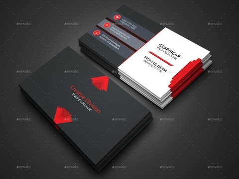 How to Design Creative Business Card in Photoshop