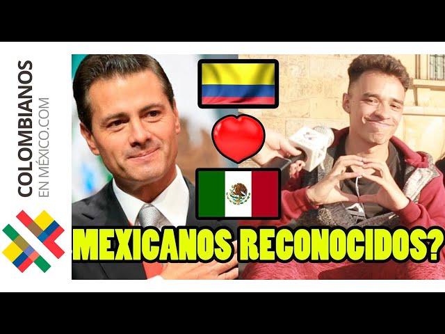 Famosos MEXICANOS en Colombia | Parte 2