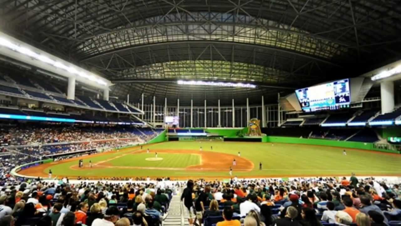 Miami Marlins Ball Park Tour Youtube
