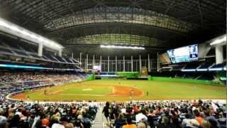 Miami Marlins Ball Park Tour
