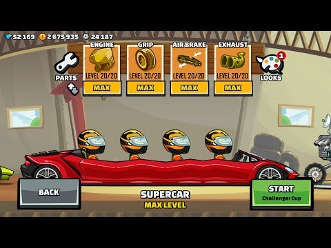 Hill Climb Racing 2 VERY LONG Super Car And World Record In CITY GamePlay