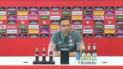 LIVE: Pressekonferenz vor dem Auswärtsspiel beim 1. FC Magdeburg