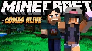 Minecraft Comes Alive! w/ Aphmau - Socially Awkward