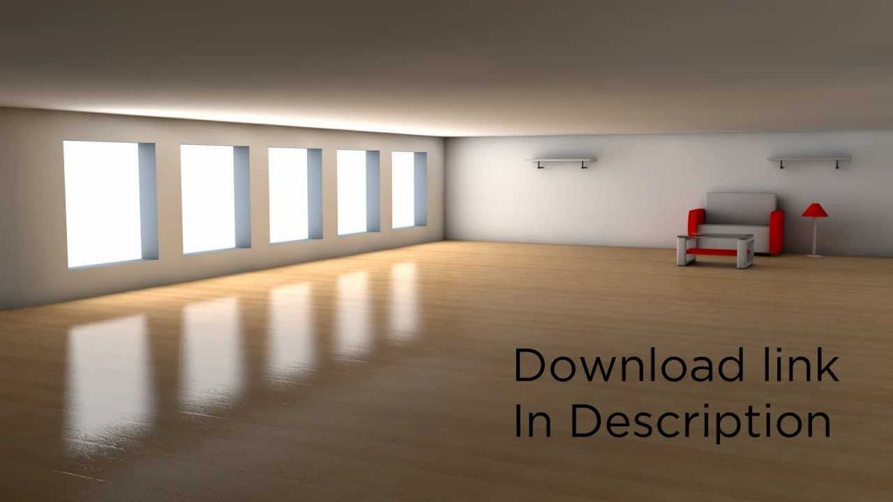 Living Room Cinema 4d Of Free Cinema 4d Room And Furniture Youtube