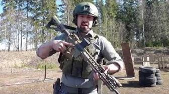 Nikamat.diy kiväärin pikasäädettävä kaksipistehihna - quick adjustable Nikamat.diy 2-point sling
