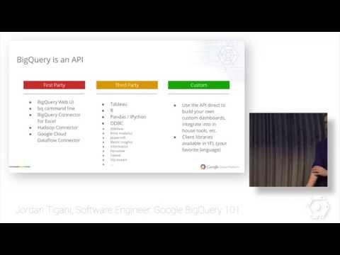 Google BigQuery introduction by Jordan Tigani