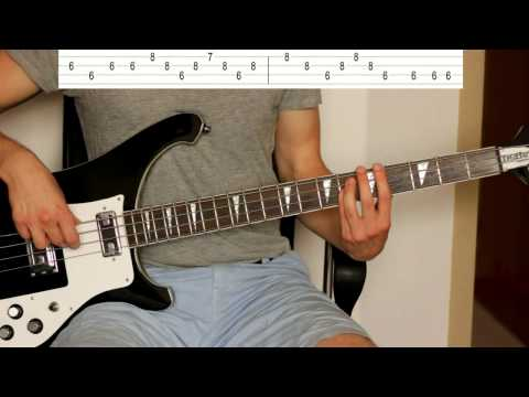 Unknown Mortal Orchestra - Multi-Love (Bass Tutorial With TABS)