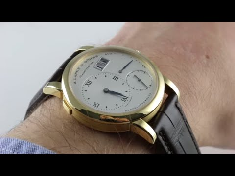 Pre-Owned A. Lange & Sohne Lange 1 101.022 Luxury Watch Review