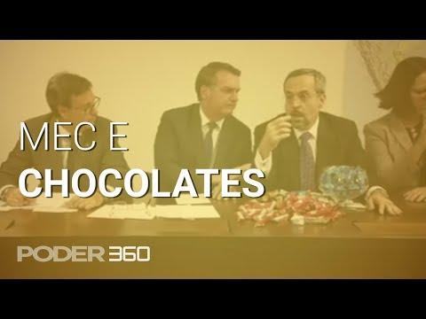 Ministro da Educação usa chocolates para explicar cortes no ensino superior