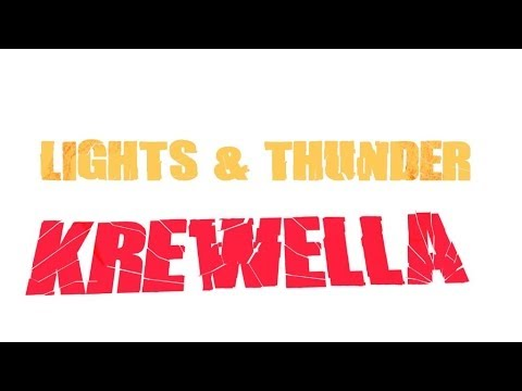 【Lyrics】Lights & Thunder - Krewella (feat. Gareth Emery ...