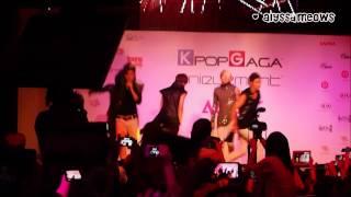 [FANCAM] [HD] 121026 NU'EST - Action @Singapore Showcase