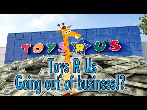 Toys R Us Going Out Of Business?!
