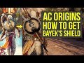 Assassin's Creed Origins Tips HOW TO GET Bayek's Shield & If It's Any Good (AC Origins best shield)
