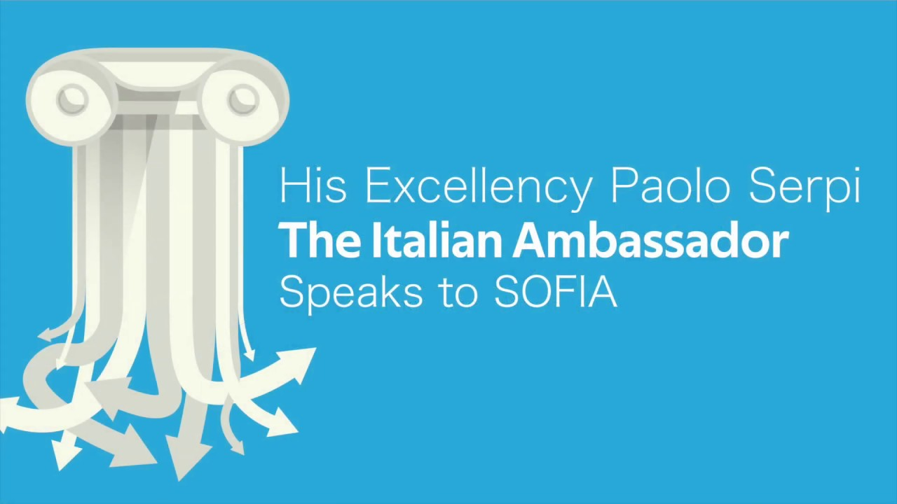 SOFIA Hosts The Italian Ambassador • Highlights
