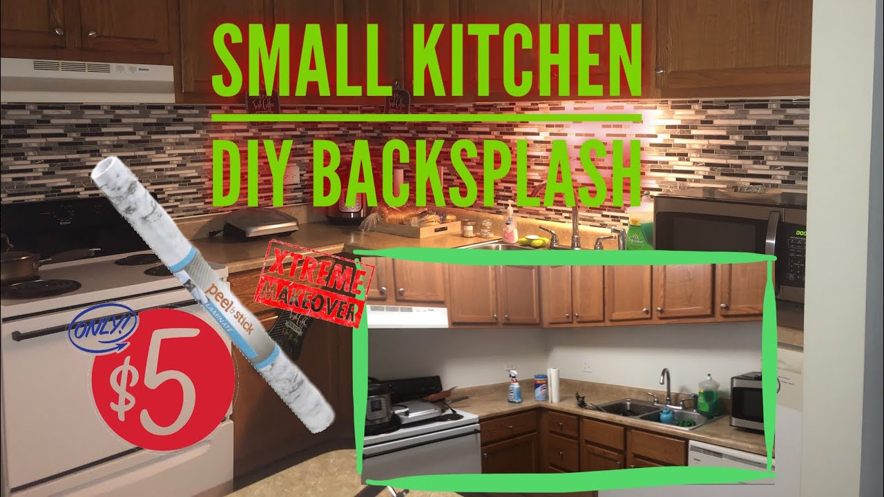 - How To : Renter Friendly DIY Kitchen Backsplash Using Peel And