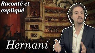 Victor Hugo, Hernani - Résumé analyse détaillé par scène (Acte 1)