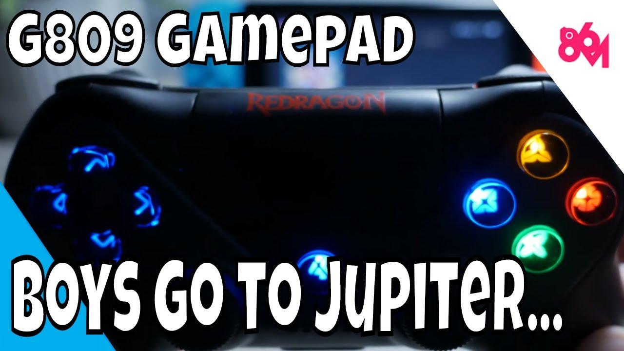 Redragon G809 Jupiter Gamepad!