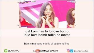 Easy Lyric FROMIS_9 - LOVE BOMB by GOMAWO [Indo Sub]