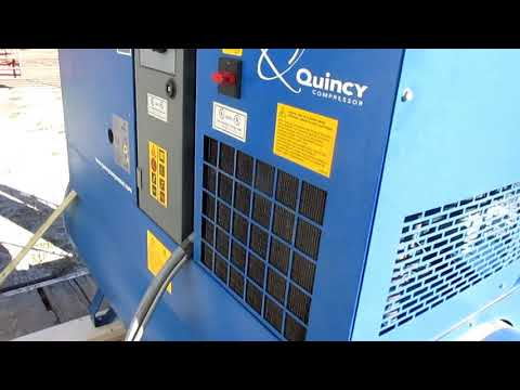 Quincy QGS 15 D rotary air compressor