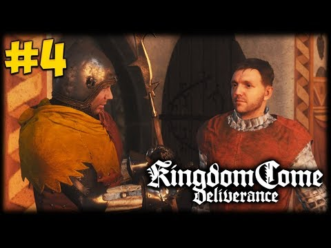 HENRY THE SQUIRE! Kingdom Come Deliverance Let's Play #4