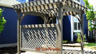 Diy Pergola Kit Slide Show